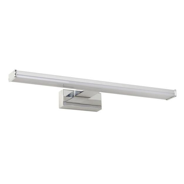Lucide Onno - spiegelverlichting badkamer - 60 x 12,1 x 4,2 cm - 12W LED incl. - IP44 - mat chroom