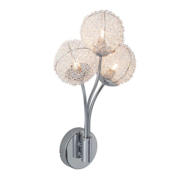 Bralis wandlamp - chroom (einde reeks)