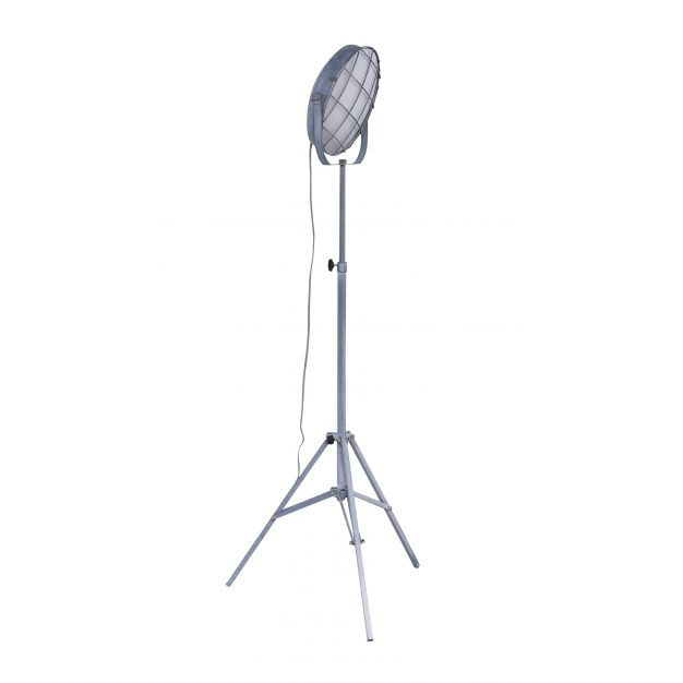 Vico Grill - staanlamp - 165 cm - 15W LED incl. - betonlook