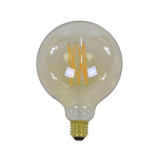 Vico bol filament LED lamp dimbaar - E27 - 6W - 2100K