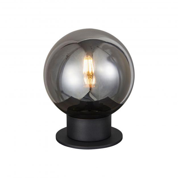 Brilliant Astro - tafellamp - Ø 20 x 24,5 cm - zwart