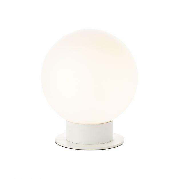 Brilliant Astro - tafellamp - Ø 25 x 29 cm - wit