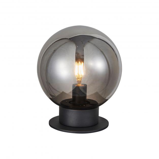 Brilliant Astro - tafellamp - Ø 25 x 29 cm - zwart
