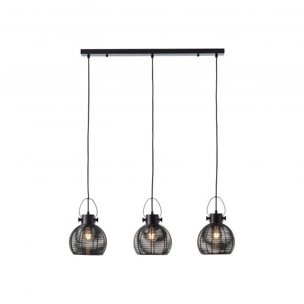 Brilliant Sambo - hanglamp - 87 x 20 x 115 cm - zwart