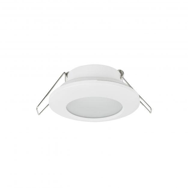 Nova Luce Tex - inbouwspot - Ø 93 mm, Ø 60 mm inbouwmaat - IP44 - zandwit