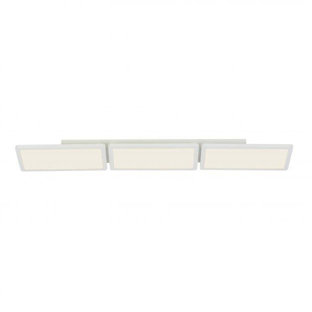 Brilliant Scope - plafondverlichting - 92 x 15 x 5 cm - 3 x 15W easydim LED incl. - mat wit
