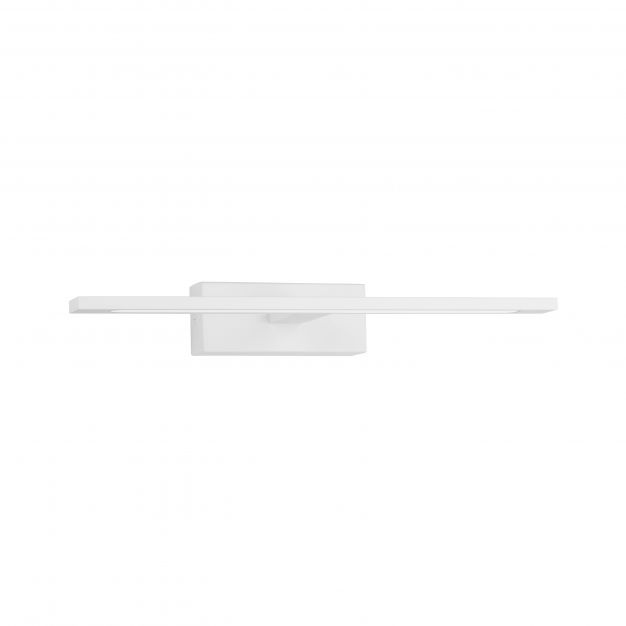 Nova Luce Mondrian - spiegellamp - 41,5 x 14 x 6 cm - 12W LED incl. - IP44 - zandwit
