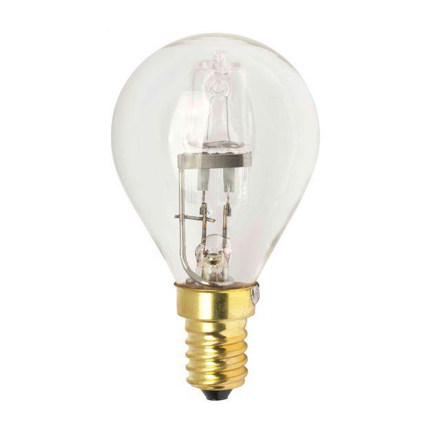 Halogeenlamp - E14 - 28W - warm wit (einde reeks)