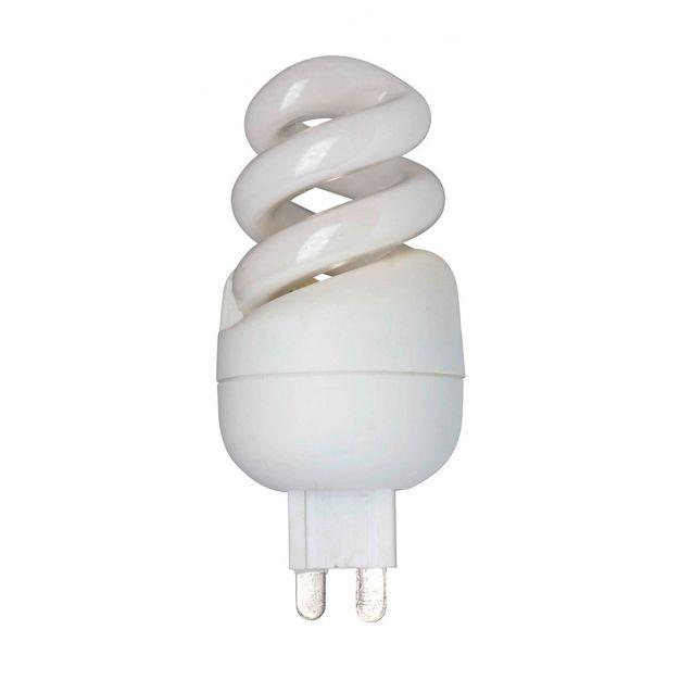 Spaarlamp - G9 - 7W - warm wit (laatste stuk)