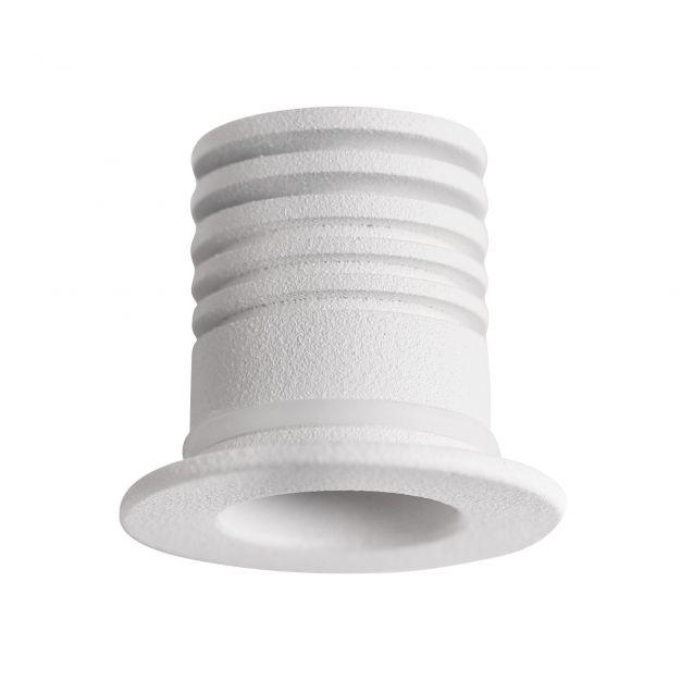 Nova Luce Tiny - inbouwspot - Ø 25 mm, Ø 18 mm inbouwmaat - 1W LED incl. - IP44 - wit