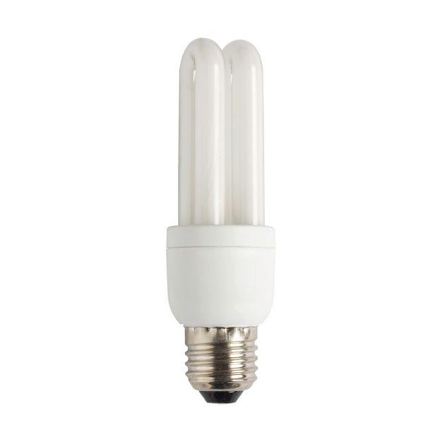 Spaarlamp - E27 - 9W - koel wit