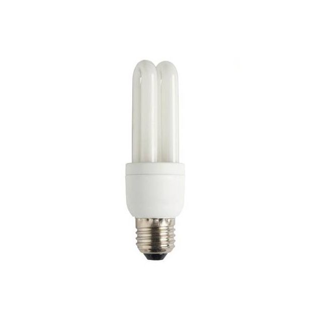 Spaarlamp - E27 - 15W - koel wit (einde reeks)