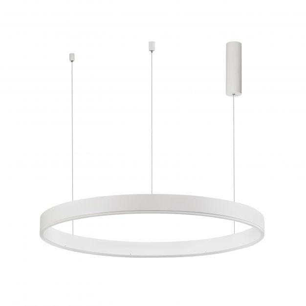 Nova Luce Motif - hanglamp - Ø 100 x 150 cm - 55W dimbare LED incl. - zandwit
