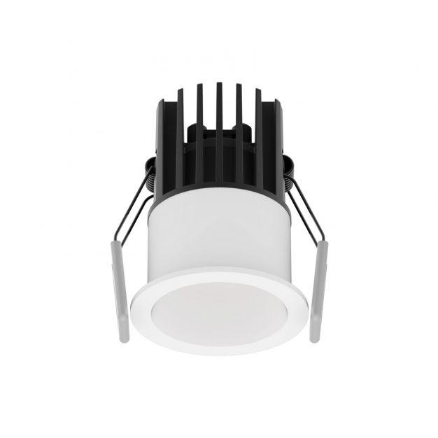 Nova Luce Bree - inbouwspot - Ø 56 mm, Ø 50 mm inbouwmaat - 7W LED incl. - IP32 - wit