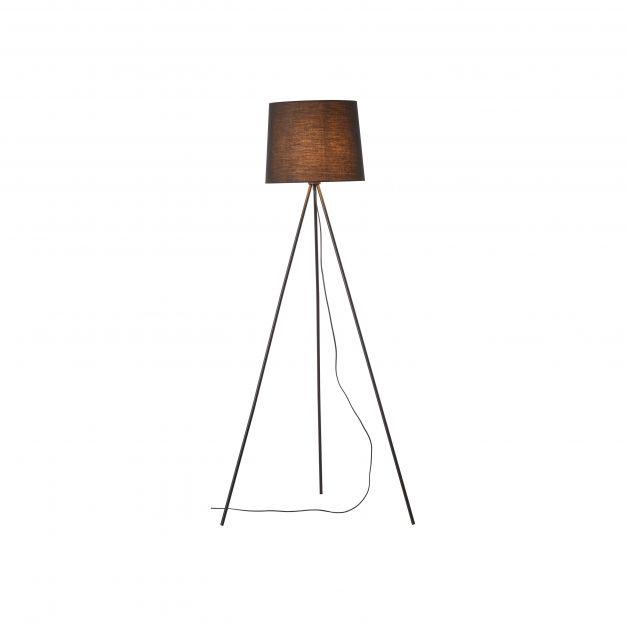 Brilliant Ailey - staanlamp - 71 x 61 x 144 cm - zwart