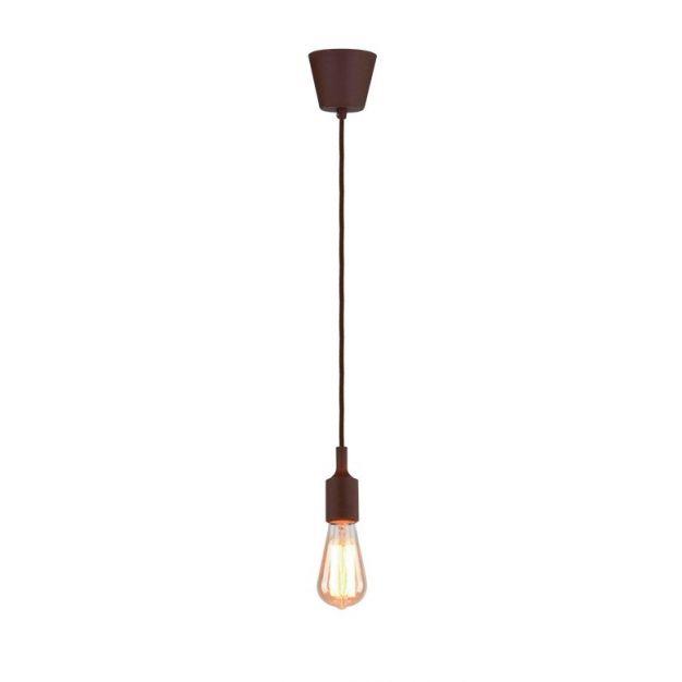 Elmark Sailor - hanglamp 1L - Ø 5 x 8 cm - bruin