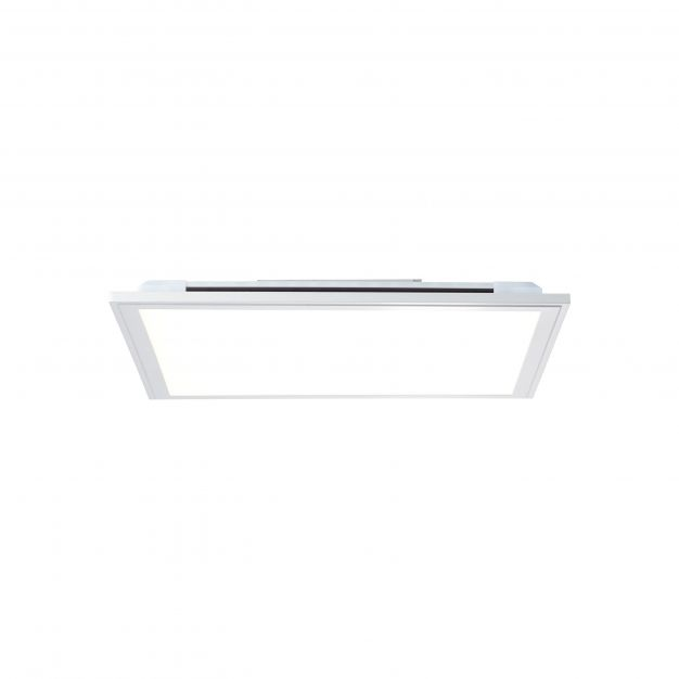 Brilliant Alissa - ledpaneel RGB met afstandsbediening - 39,5 x 39,5 x 5,3 cm - 32W dimbare LED incl. - wit