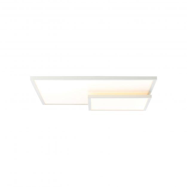 Brilliant Bility - plafondverlichting - 62 x 46,5 x 7,4 cm - 36W easyDim LED incl. - wit