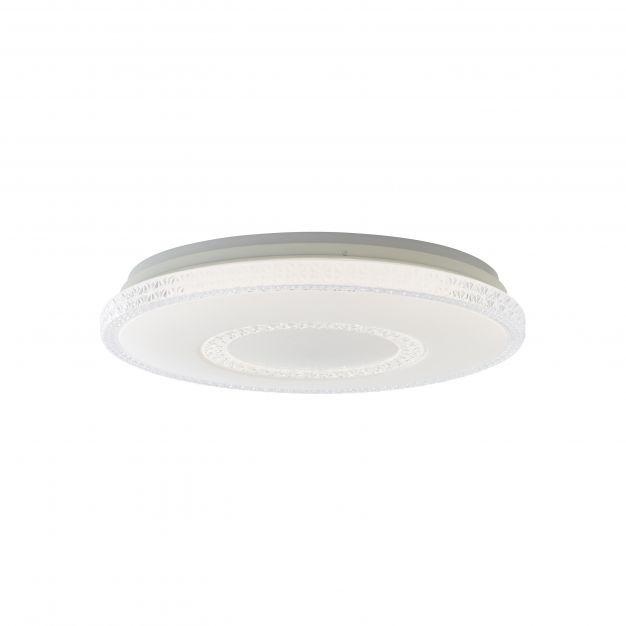 Brilliant Susie - plafondverlichting RGB met afstandsbediening - Ø 49,5 x 11,5 cm - 32W dimbare LED incl. - wit