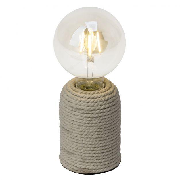 Brilliant Cardu - tafellamp - 12 cm - natuurlijk