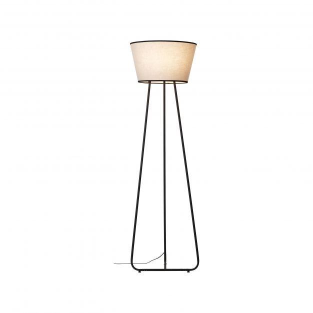 Brilliant Amoa - staanlamp - Ø 50 x 167 cm - grijs