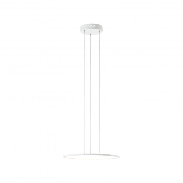 Brilliant Ceres - hanglamp - Ø 45 x 125 cm - 31W easyDim LED incl. - wit