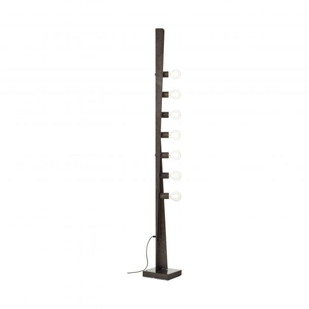 Brilliant Nux - staanlamp - 30 x 30 x 170 cm - antiek