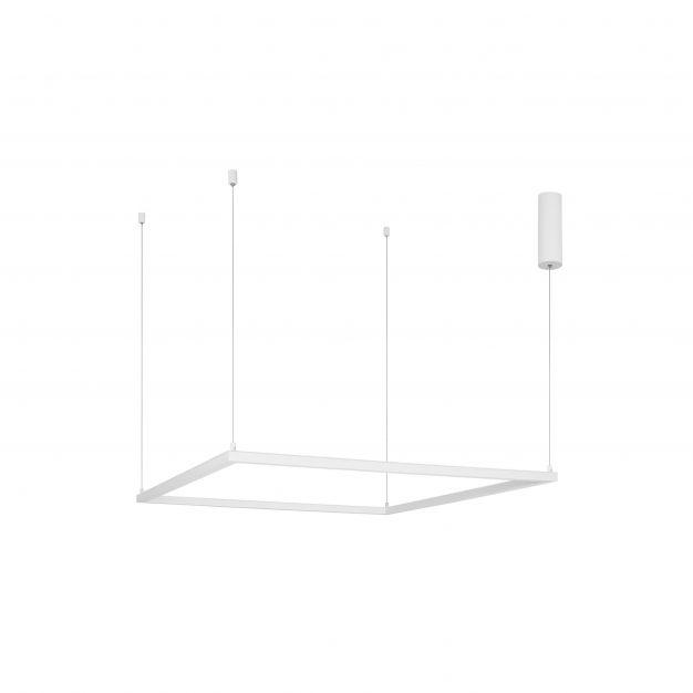 Nova Luce Eterna - hanglamp - 100 x 100 x 120 cm - 50W dimbare LED incl. - zandwit