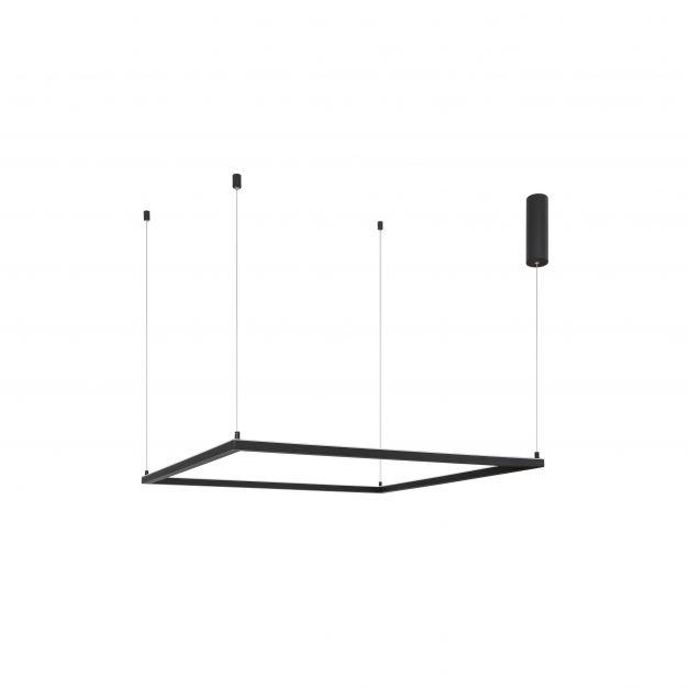 Nova Luce Eterna - hanglamp - 100 x 100 x 120 cm - 50W dimbare LED incl. - zand zwart