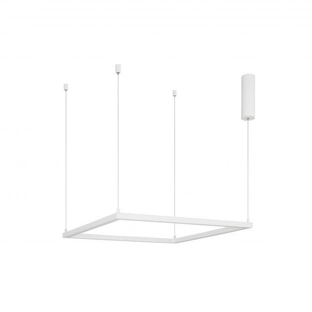 Nova Luce Eterna - hanglamp - 75 x 75 x 120 cm - 40W dimbare LED incl. - zandwit