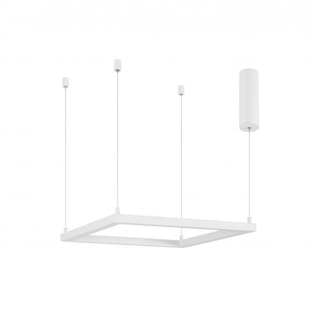 Nova Luce Eterna - hanglamp - 50 x 50 x 120 cm - 30W dimbare LED incl. - zandwit