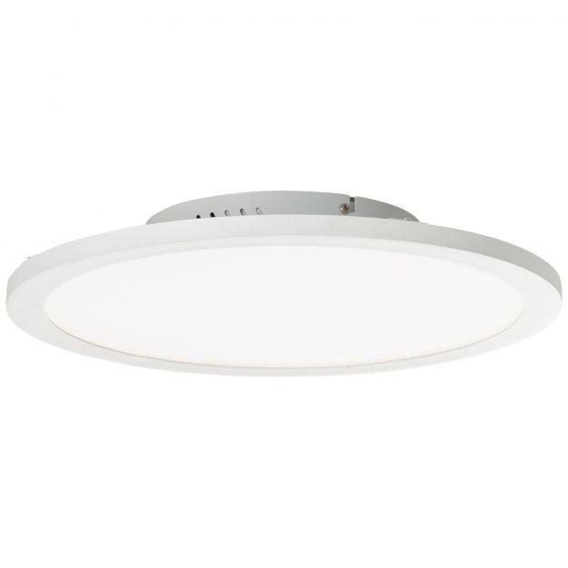 Brilliant Abie - ledpaneel RGB met afstandsbediening - Ø 40 x 5,9 cm - 24W dimbare LED incl. - wit
