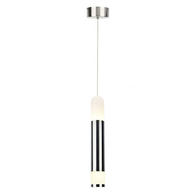 AEG Abby - hanglamp - Ø 10 x 120 cm - 10W LED incl. - nikkel (laatste stuks!)