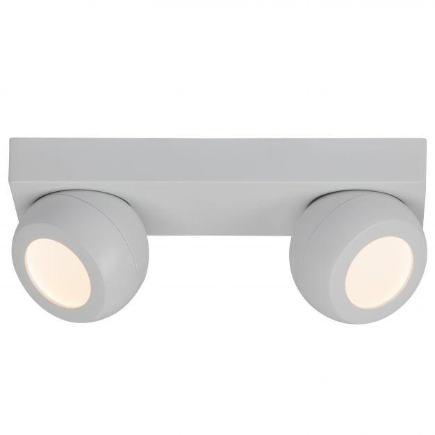 AEG Balleo - wand/plafondlamp - 30 x 10 x 12,5 cm - 2 x 5W easydim LED incl. - wit