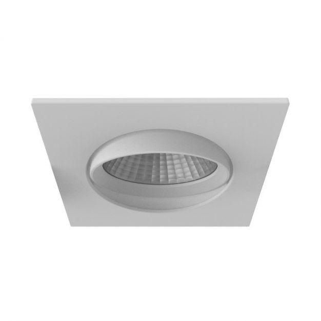 Nordlux Apollo - inbouwspot - 5,5W dimbare LED incl. - 85 x 85 mm, Ø 72 mm inbouwmaat - IP23 - wit