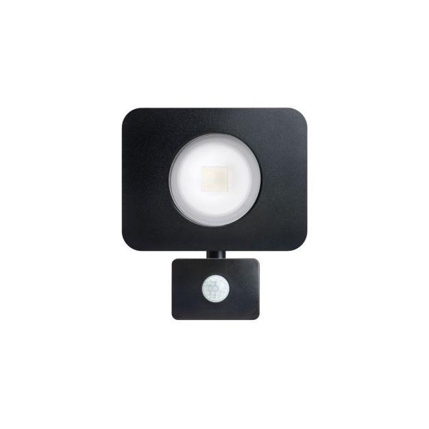 Integral Compact - verstraler met bewegingssensor - 'always on-modus' - 18,8 x 20,1 x 80 cm - 50W incl. - IP64 - zwart