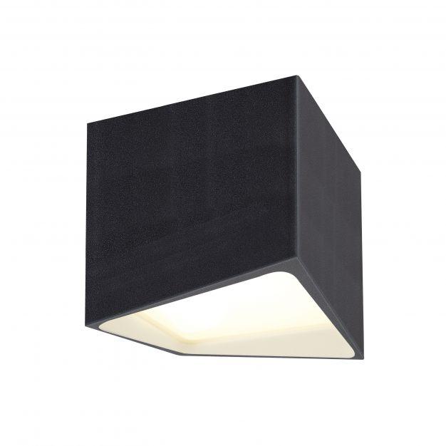 Maxlight Etna- plafondverlichting - Ø 10 x 11 cm - 10W LED incl. - IP44 - zwart