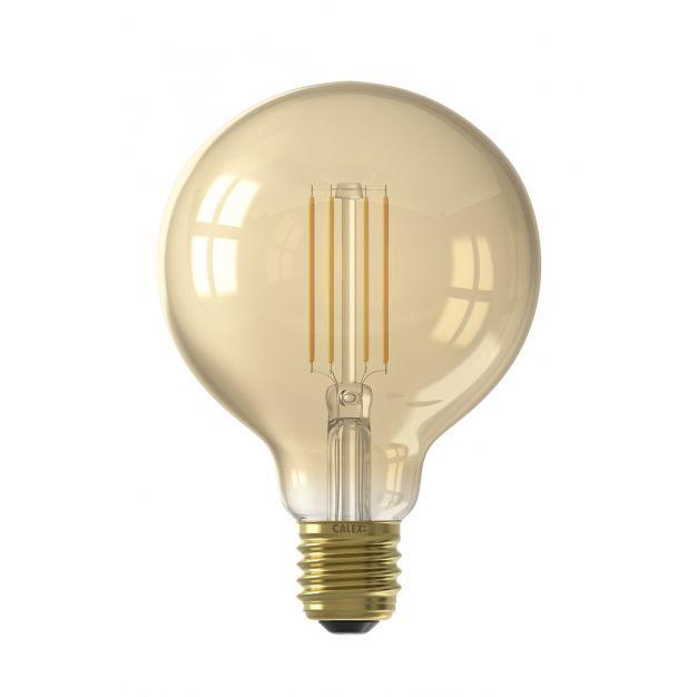Calex Smart LED lamp - Ø 9,5 x 14 cm - E27 - 7W - dimfunctie via app - 1800 tot 3000K - white ambiance
