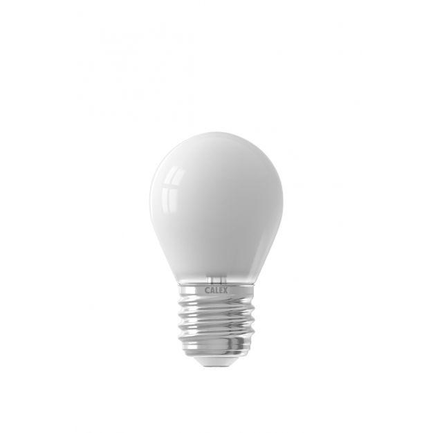 Calex Smart LED lamp - Ø 4,5 x 7,8 cm - E27 - 4,5W - dimfunctie via app - 2200 tot 4000K - white ambiance