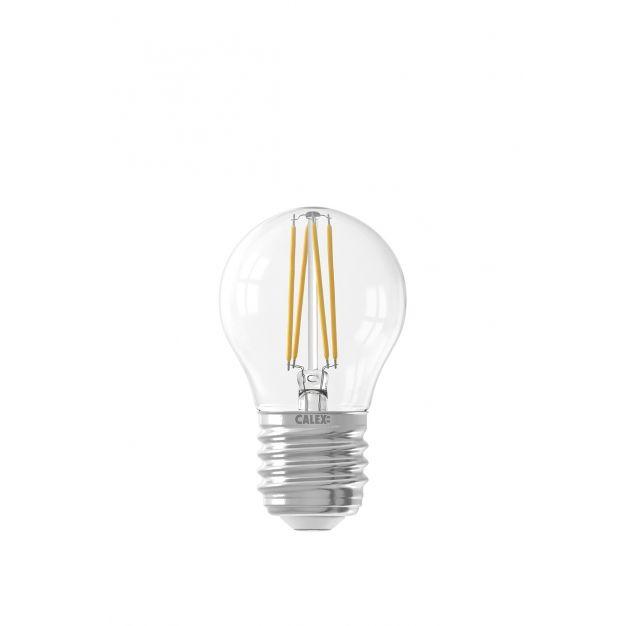 Calex Smart LED lamp - Ø 4,5 x 7,8 cm - E27 - 4,5W - dimfunctie via app - 1800 tot 3000K - white ambiance
