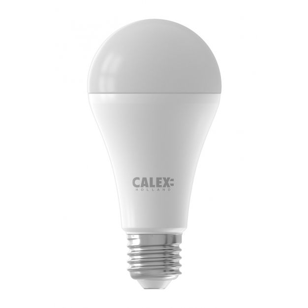 Calex Smart LED lamp - Ø 6,5 x 12,8 cm - E27 - 14W - dimfunctie via app - 2200 tot 4000K - ambiance white