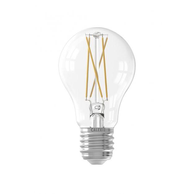 Calex Smart LED lamp - Ø 6 x 10,4 cm - E27 - 7W - dimfunctie via app - 1800 tot 3000K - white ambiance