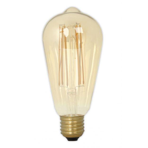 Vico druppel filament LED lamp dimbaar - E27 - 6W - 2100K