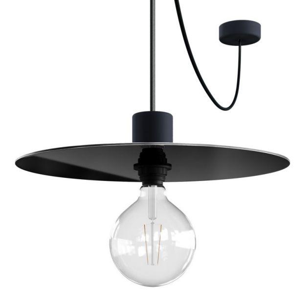 Creative Cables Elegant - hanglamp - Ø 40 x 514,8 cm - IP65 - zwart
