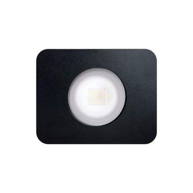 Integral Compact - verstraler - 15 x 12 x 4,7 cm - 30W incl. - IP65 - zwart