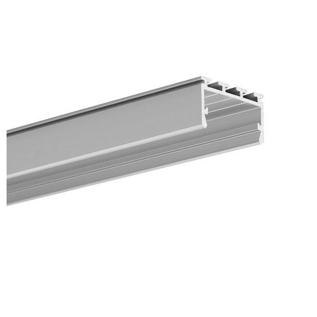 KLUS Giza-LL - buigbaar LED profiel - 2,6 x 1,45 cm - 200cm lengte - geanodiseerd zilver