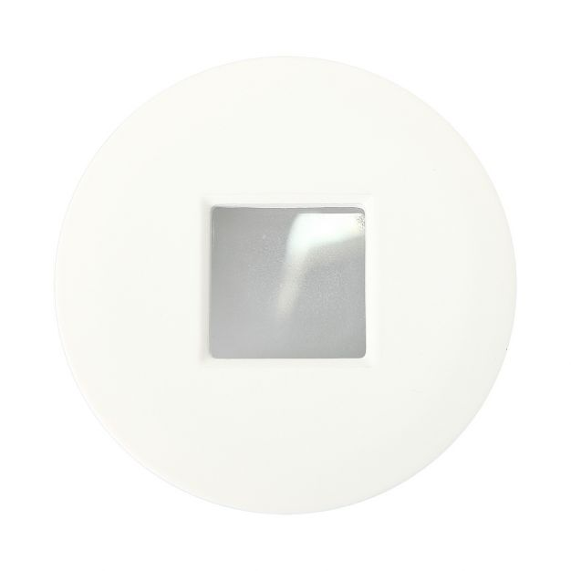 Maxlight H0042 - inbouwspot 1L - Ø 85 mm, Ø 70 mm inbouwmaat - IP65 - wit
