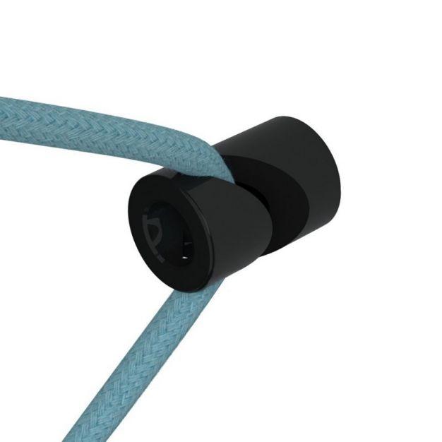 Creative Cables - decentralisatiepunt - V punt - Ø 2 x 3 cm - zwart