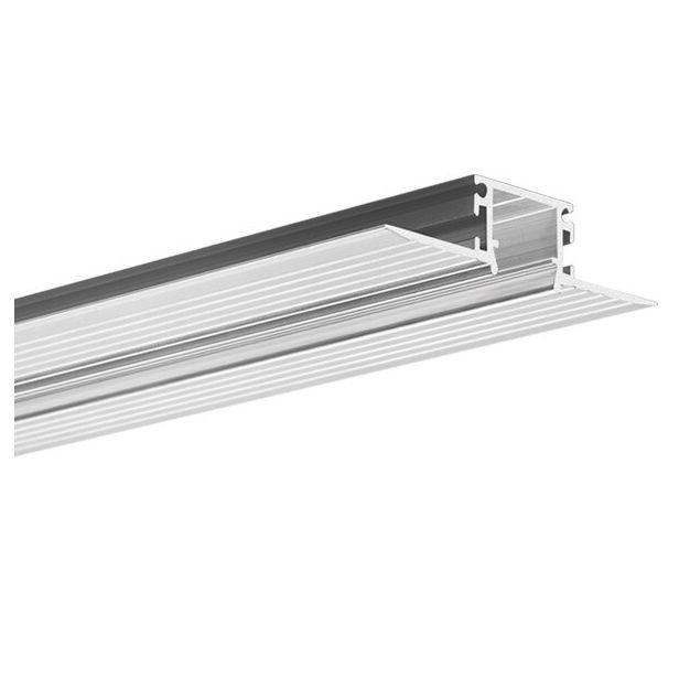 KLUS Kozma - inbouw LED profiel - 1,3 cm vensterbreedte - 200cm lengte - aluminium