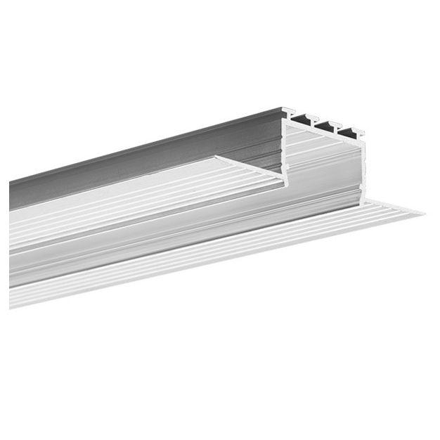 KLUS Kozus - inbouw LED profiel - 2,7cm vensterbreedte - 200cm lengte - aluminium